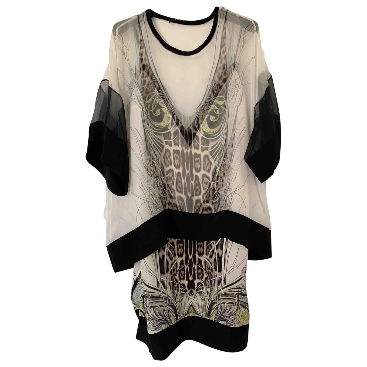 Roberto Cavalli \N Multicolour Silk dress for Women 42 IT