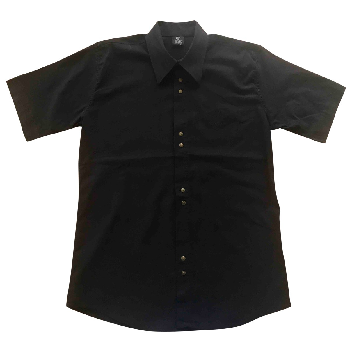 Versace Jeans \N Black Cotton Shirts for Men XL International