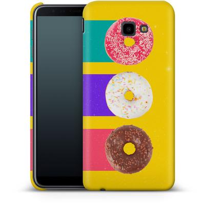 Samsung Galaxy J4 Plus Smartphone Huelle - Donuts von Danny Ivan