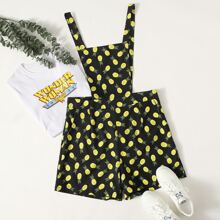 Romper mit Ananas Muster