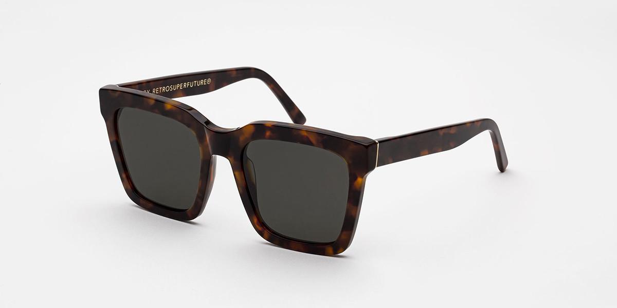 Retrosuperfuture Aalto Classic Havana Asian Fit IFD0 B3H Men's Sunglasses Tortoise Size 54