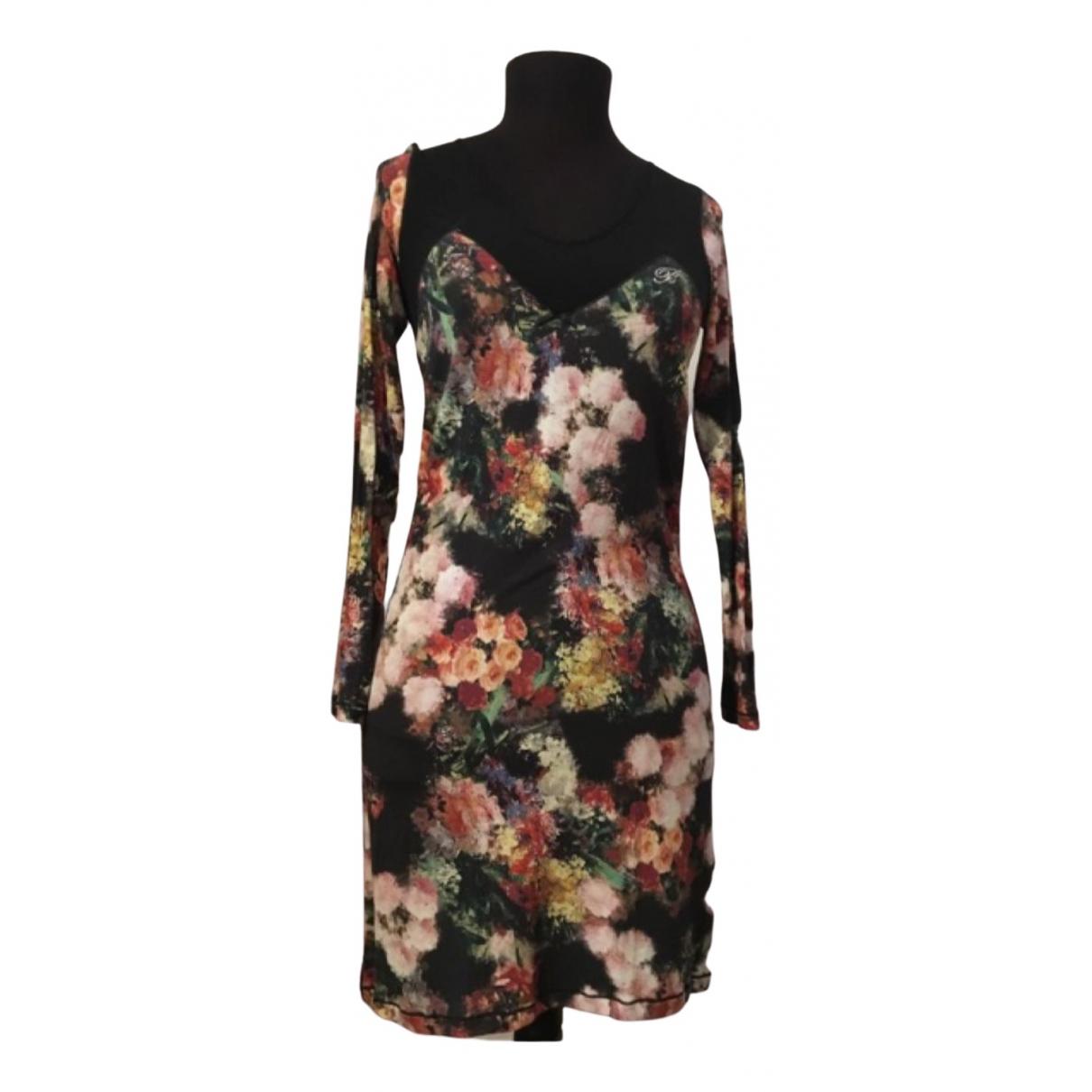 Blumarine \N Kleid in Baumwolle - Elasthan