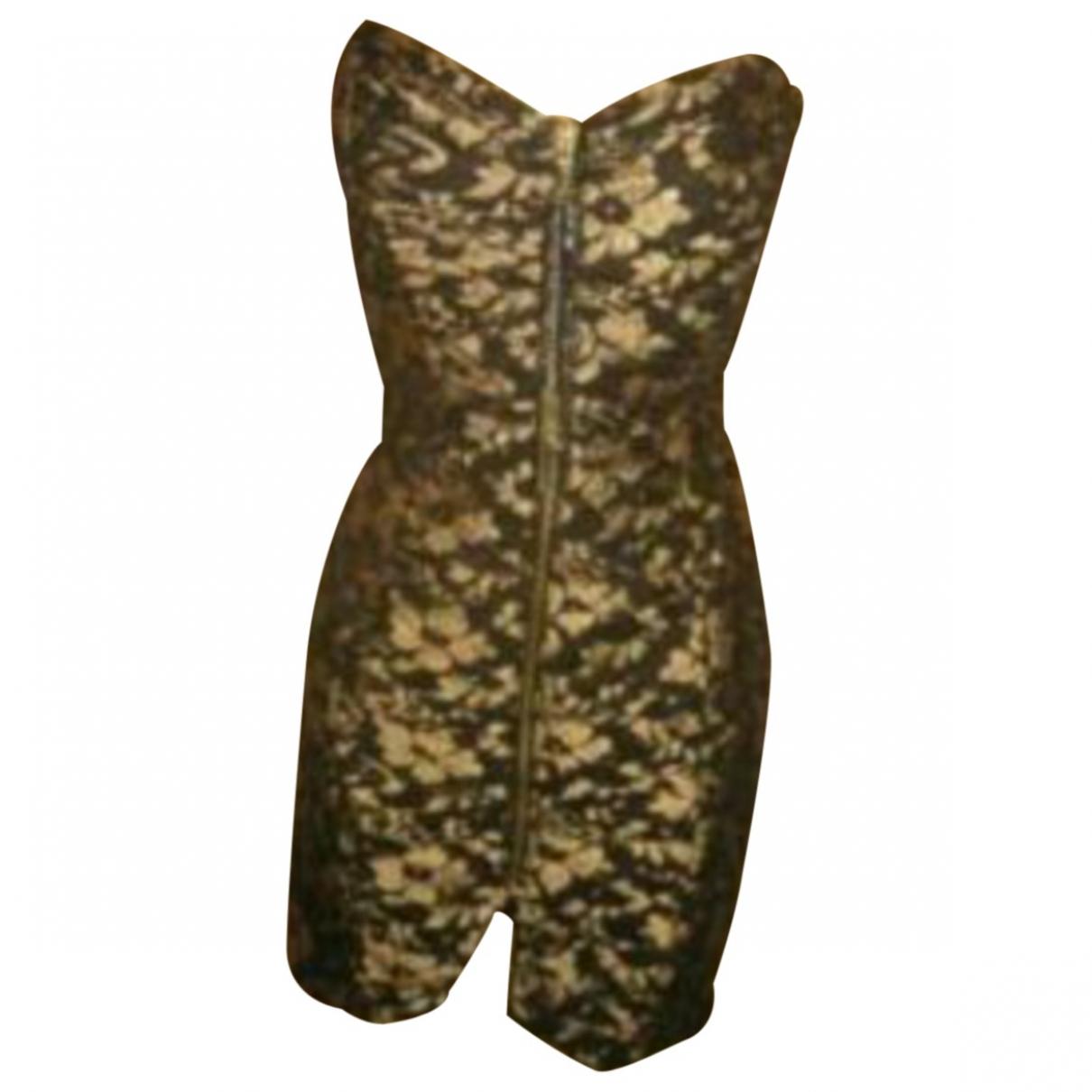 River Island - Robe   pour femme en coton - multicolore