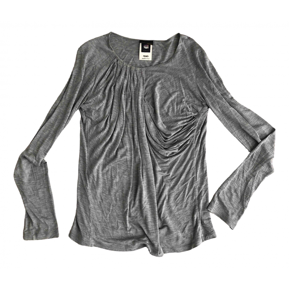 Fendi \N Grey  top for Women 40 IT