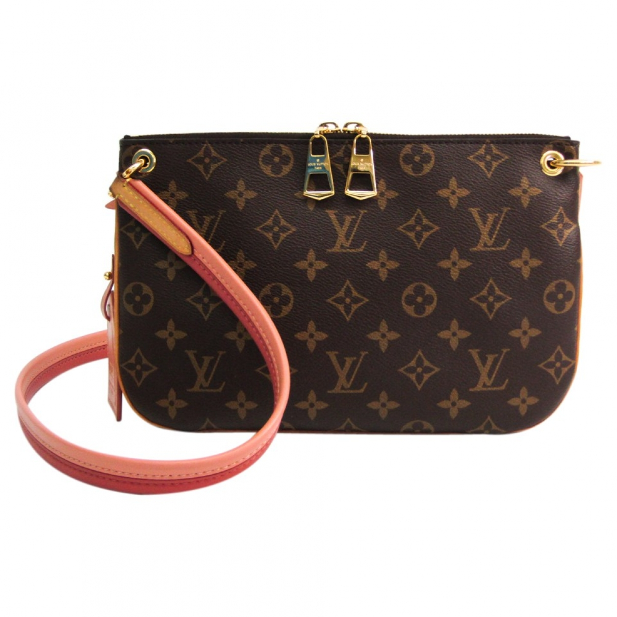 Louis Vuitton Lorette Brown Cloth handbag for Women \N
