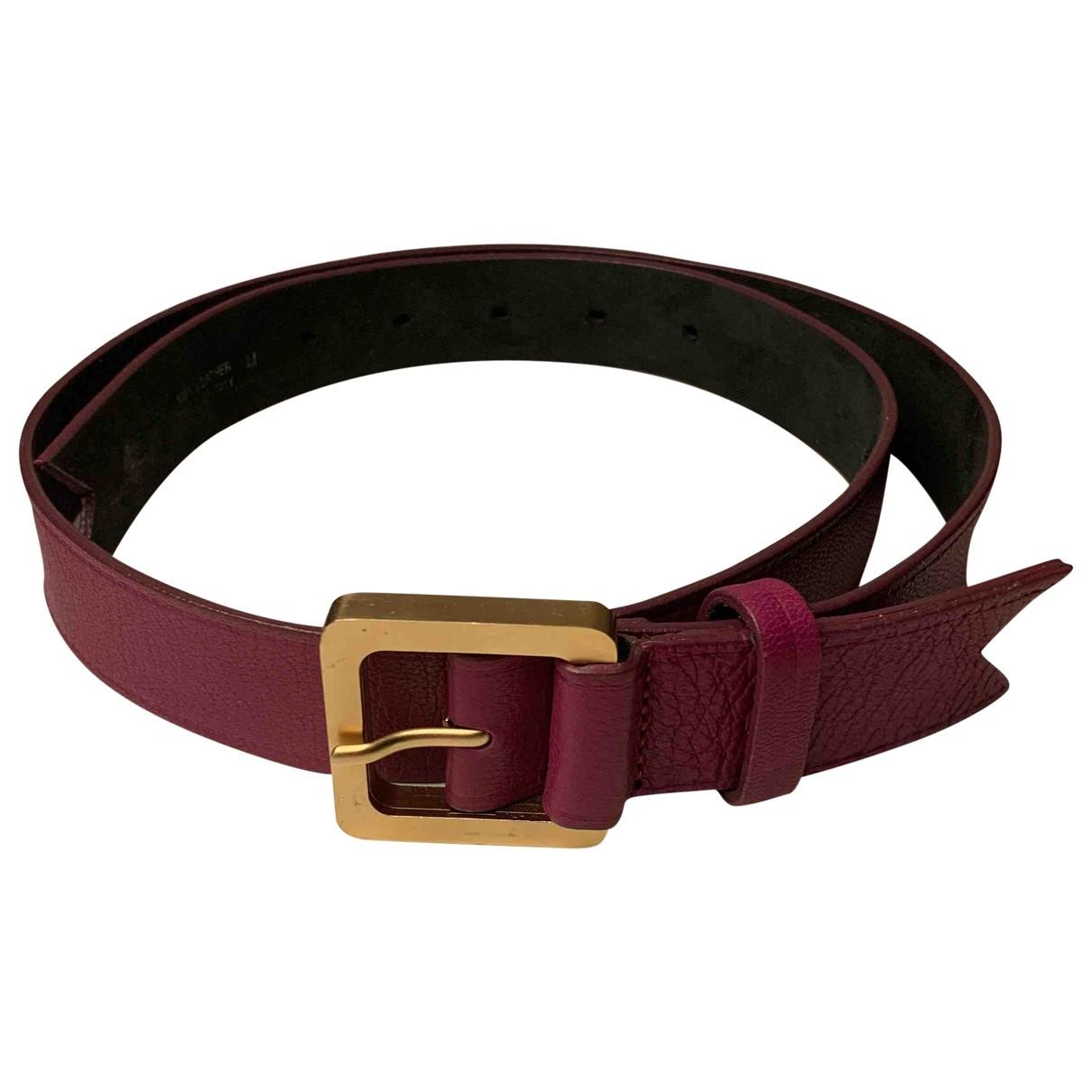 Cinturon de Cuero Meredith Wendell