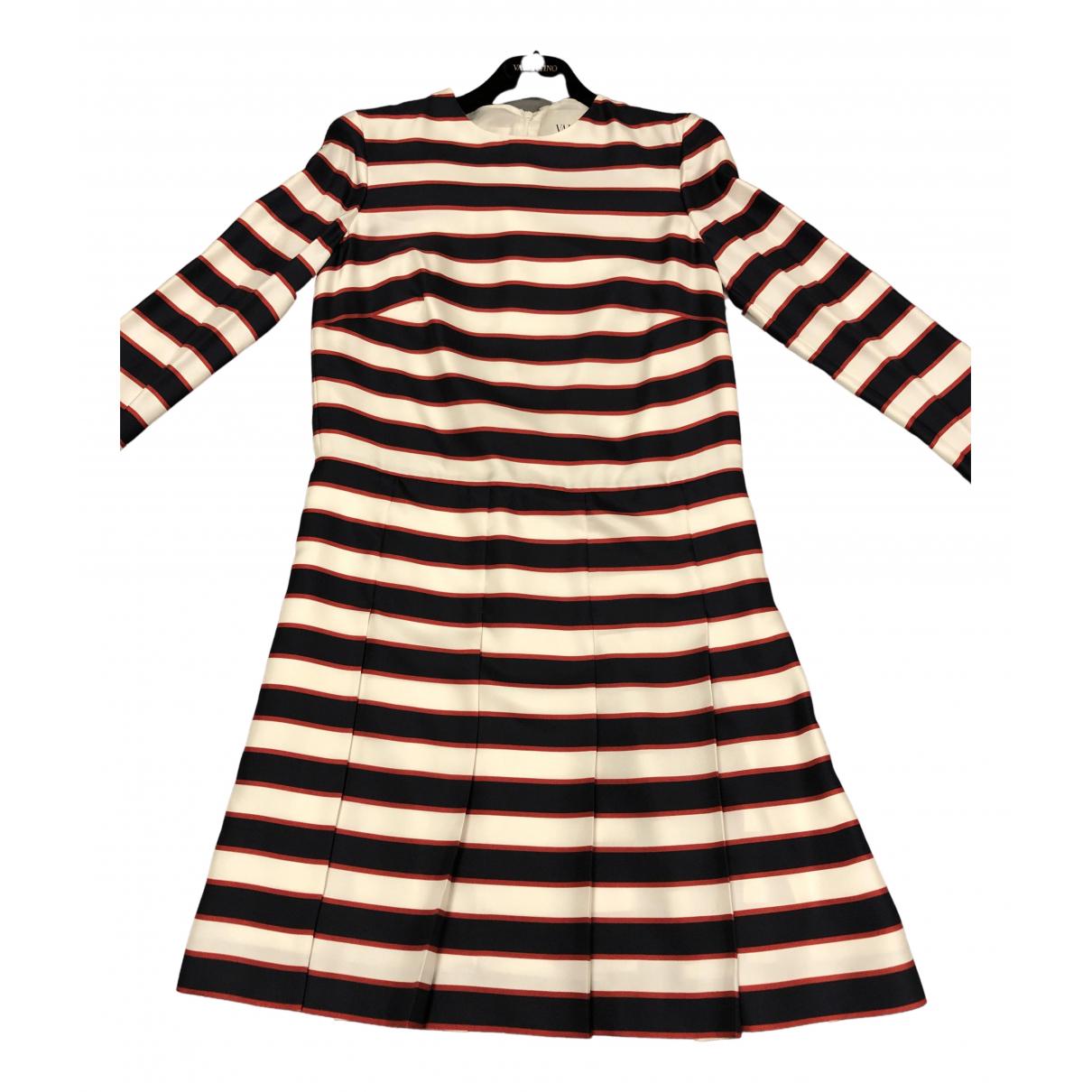Valentino Garavani \N Multicolour Silk dress for Women 40 FR