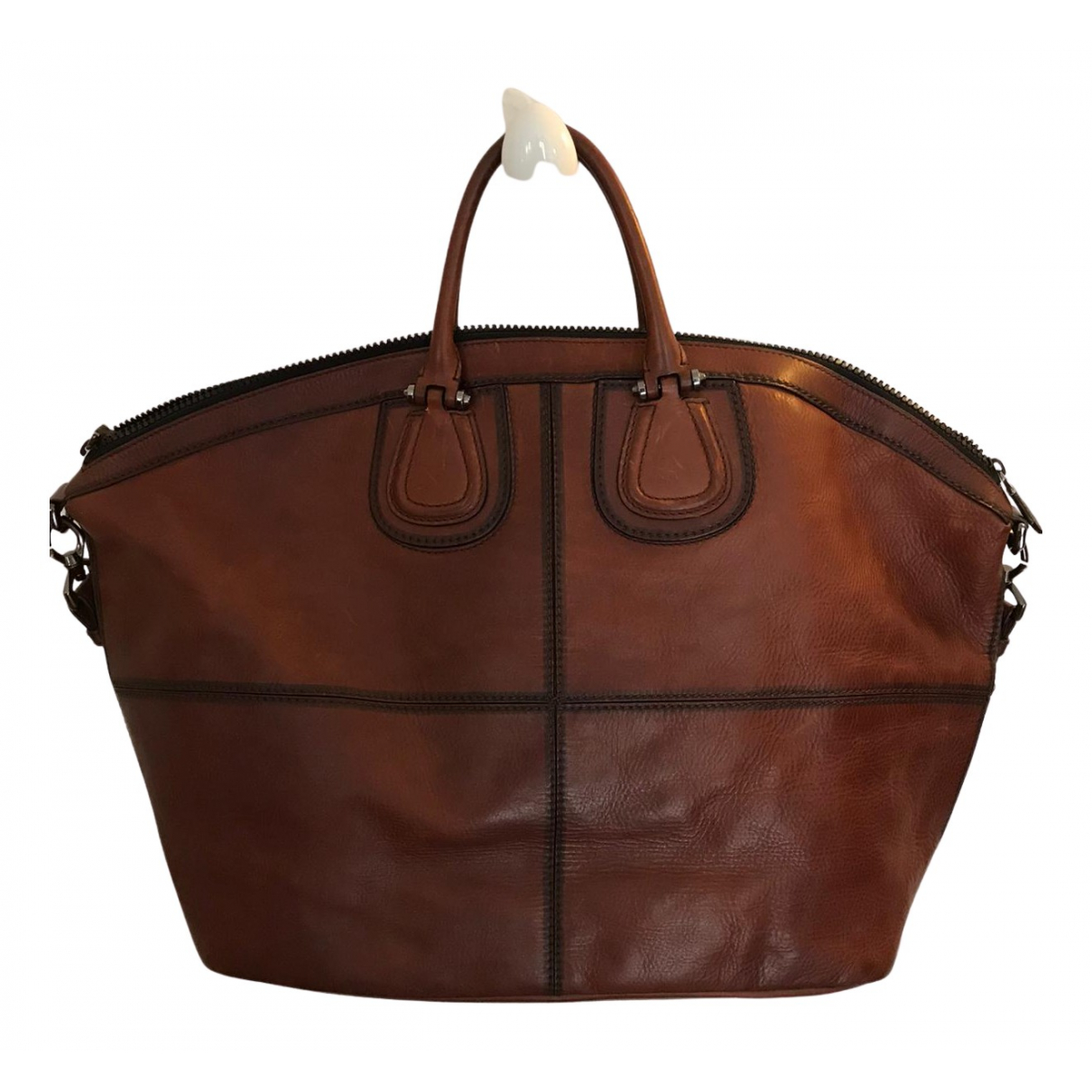 Givenchy Nightingale Brown Leather Travel bag for Women N
