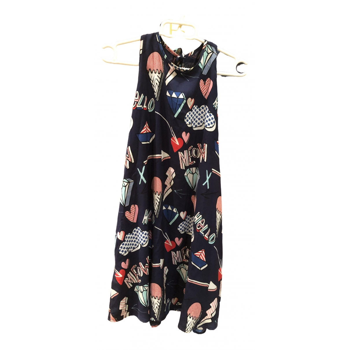 Zara \N Navy dress for Women XS International