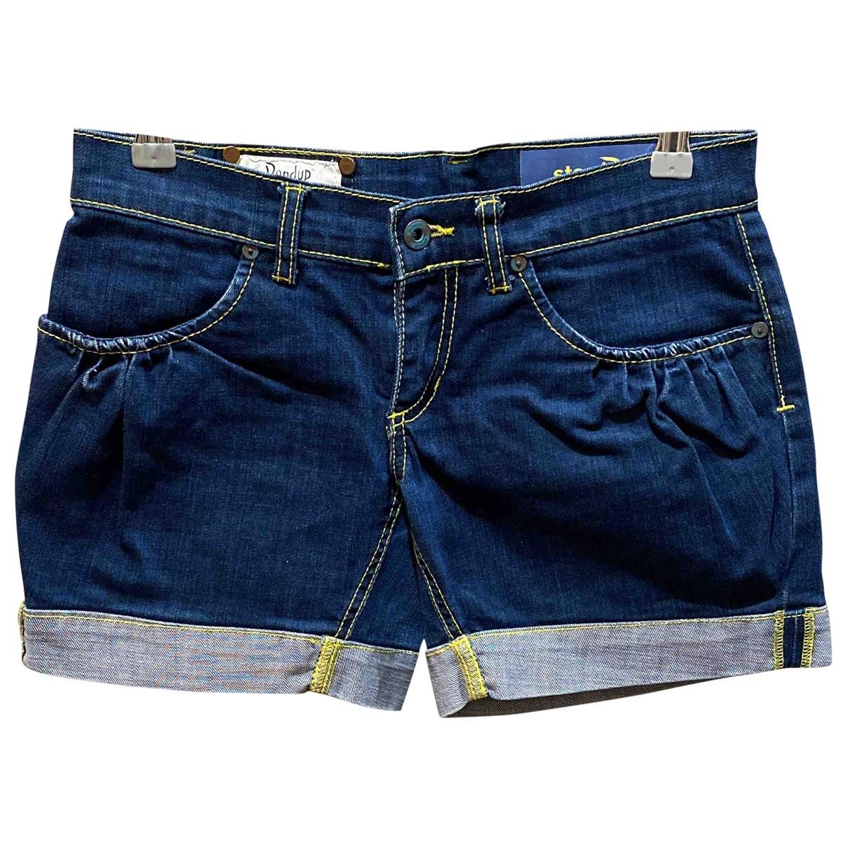 Dondup \N Blue Denim - Jeans Shorts for Women 38 IT