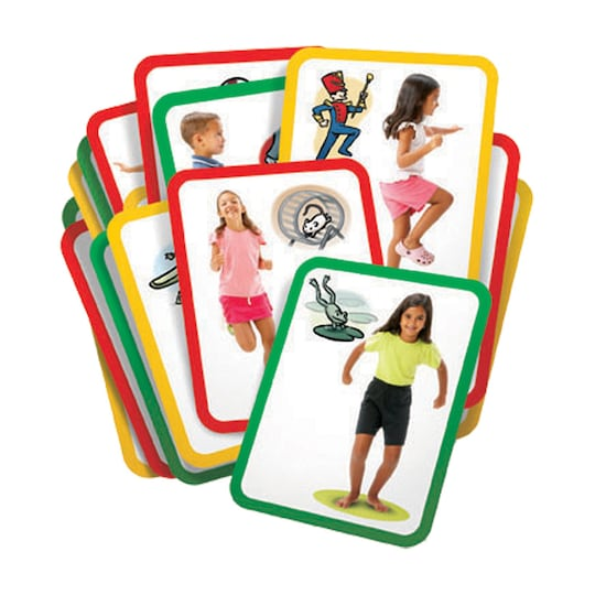 Roylco® Busy Bodies: Gross Motor Exercise Cards | Michaels®