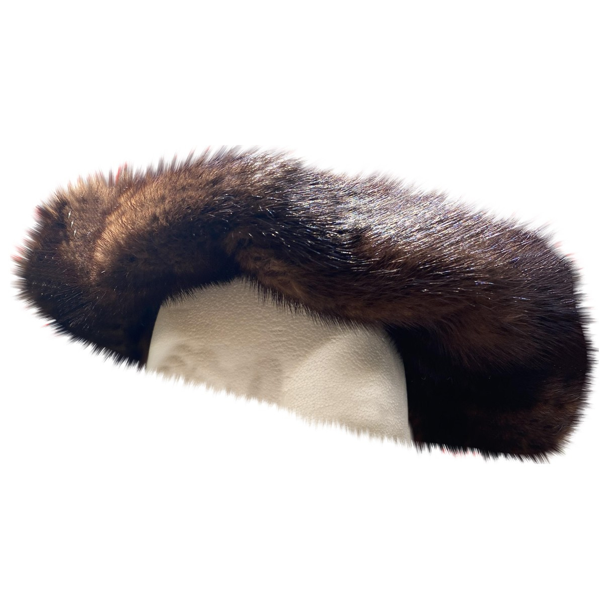 Non Signé / Unsigned \N Brown Mink hat for Women M International