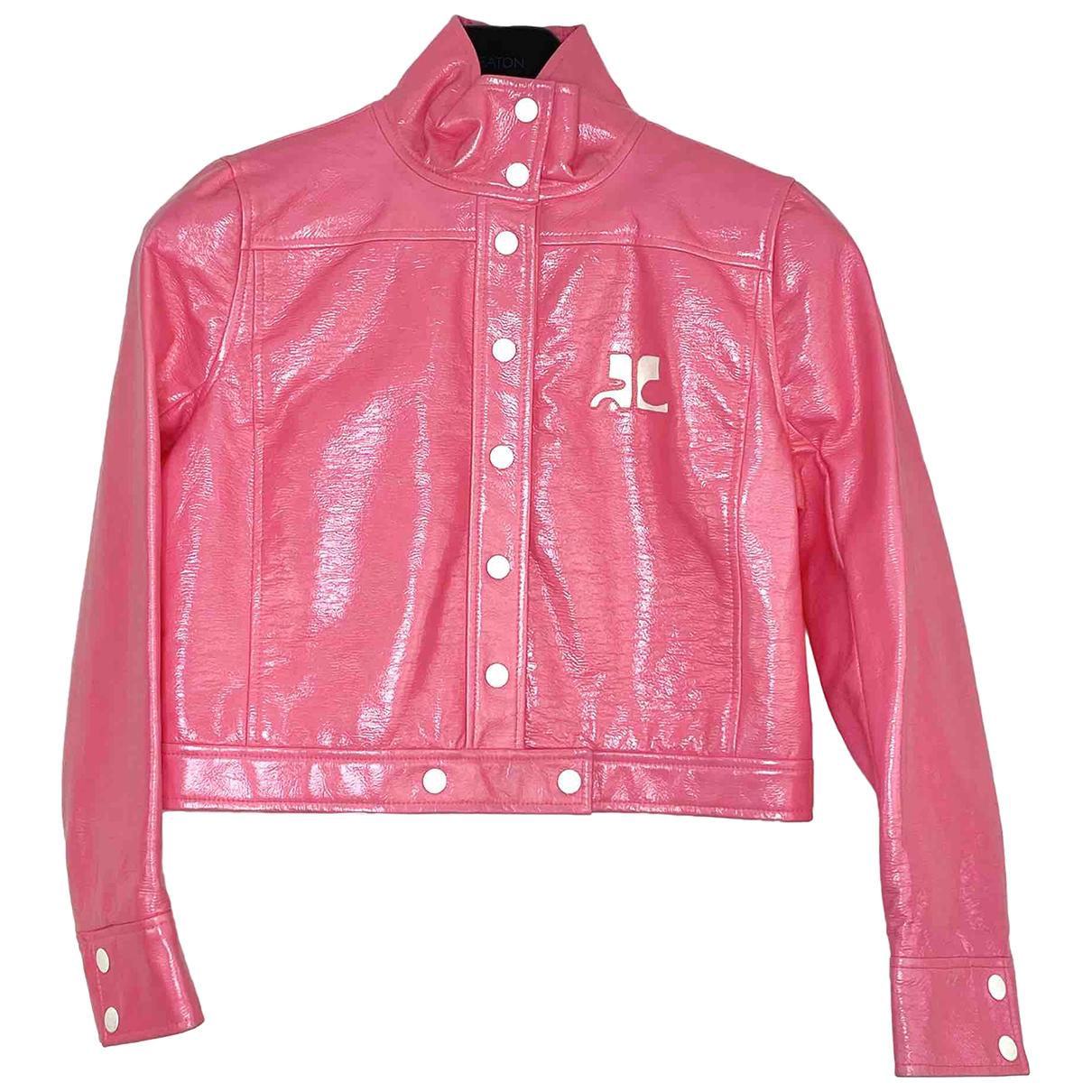 Courrèges \N Pink jacket for Women 42 FR