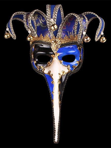 Milanoo Covering Halloween Costume Gilding Pearl Bell Carnival Masquerade Costume Accessories