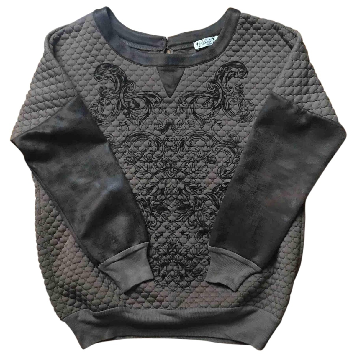 Non Signe / Unsigned \N Pullover in Polyester