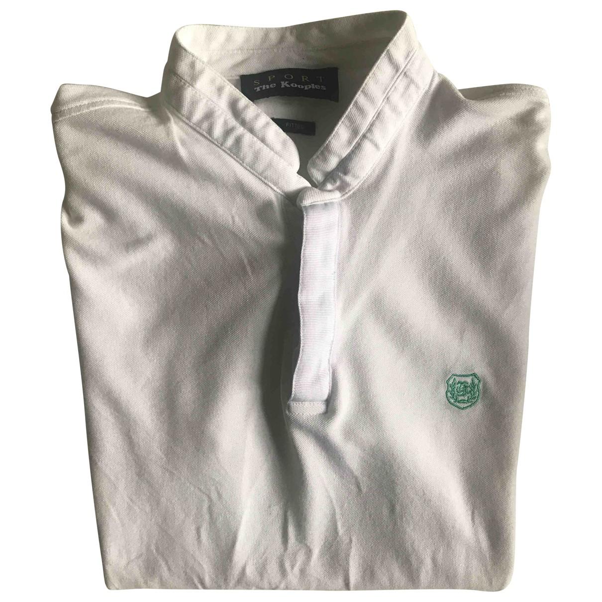 The Kooples - Polos Spring Summer 2019 pour homme en coton - blanc