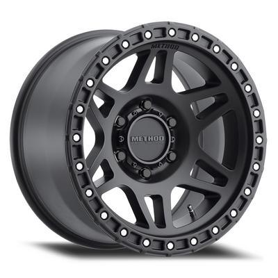 Method Race Wheels MR312, 17x9 with 5x5 Bolt Pattern - Matte Black - MR31279050512N