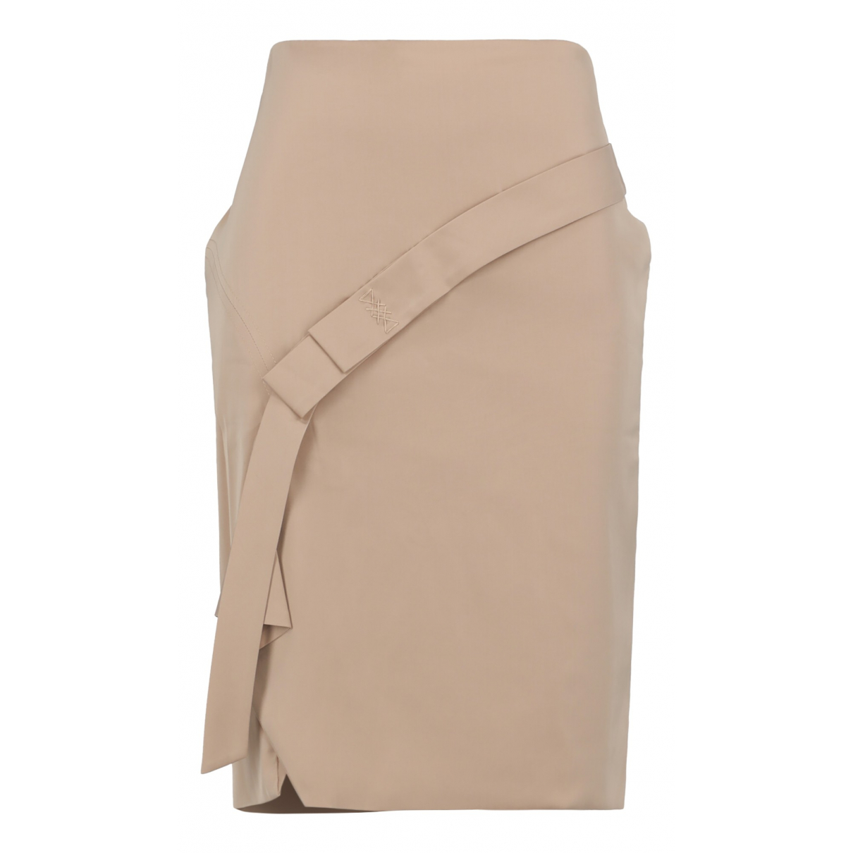 Gucci N Beige Silk skirt for Women 44 IT