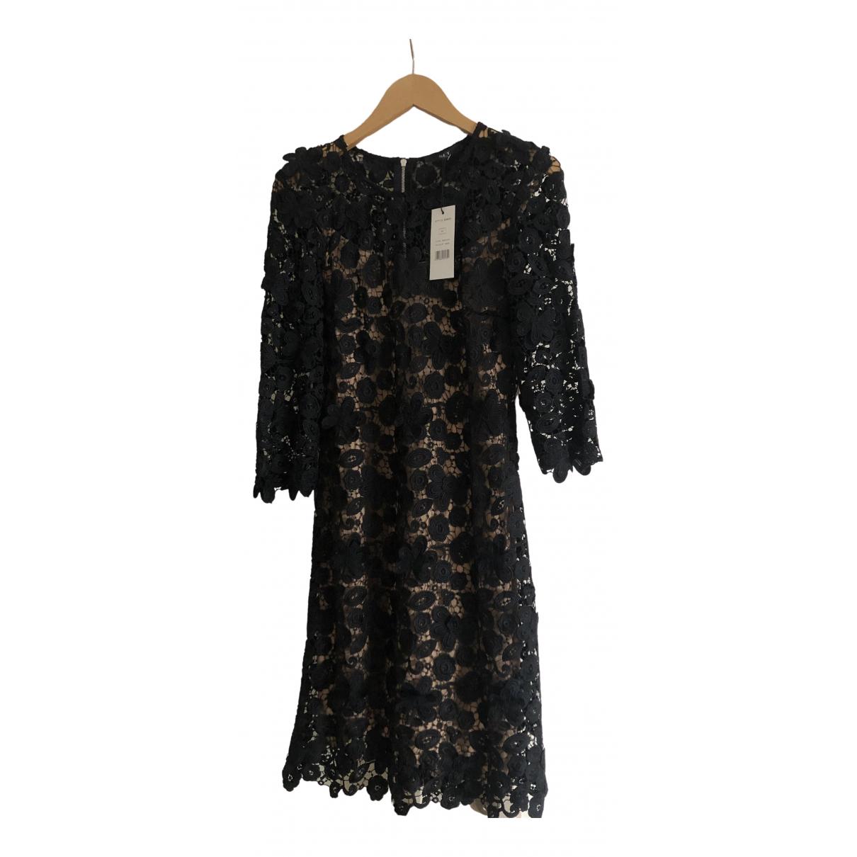 Set \N Kleid in  Schwarz Spitze