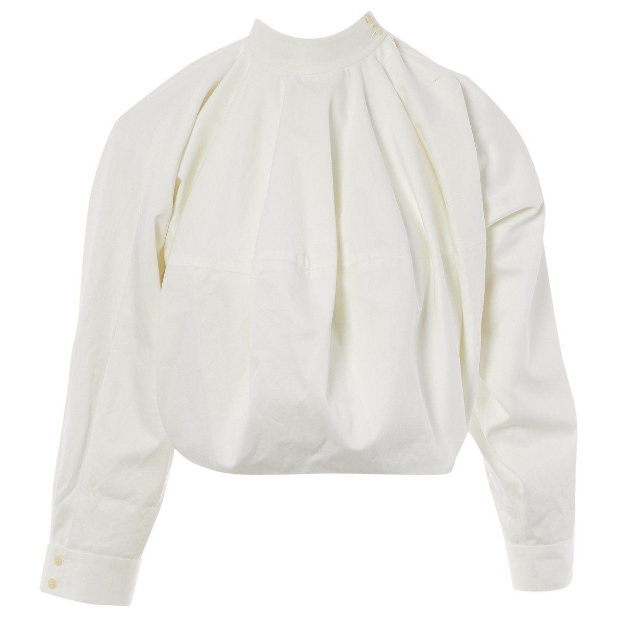 J.w. Anderson \N White Cotton  top for Women 8 UK