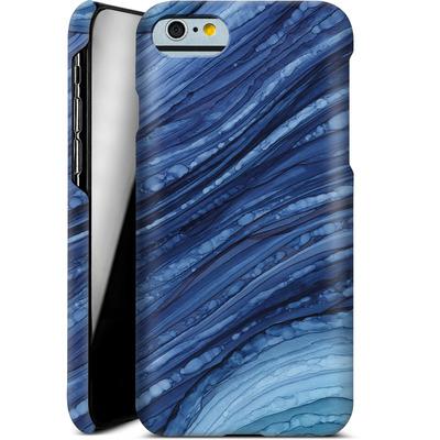 Apple iPhone 6s Smartphone Huelle - Blue Agate Crystal Slice von Becky Starsmore