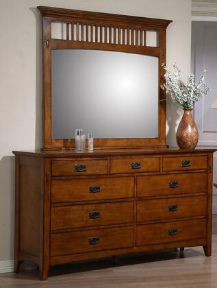 Tremont Collection SSTR75SS-TR750-DR_MR 2 PC Dresser & Mirror