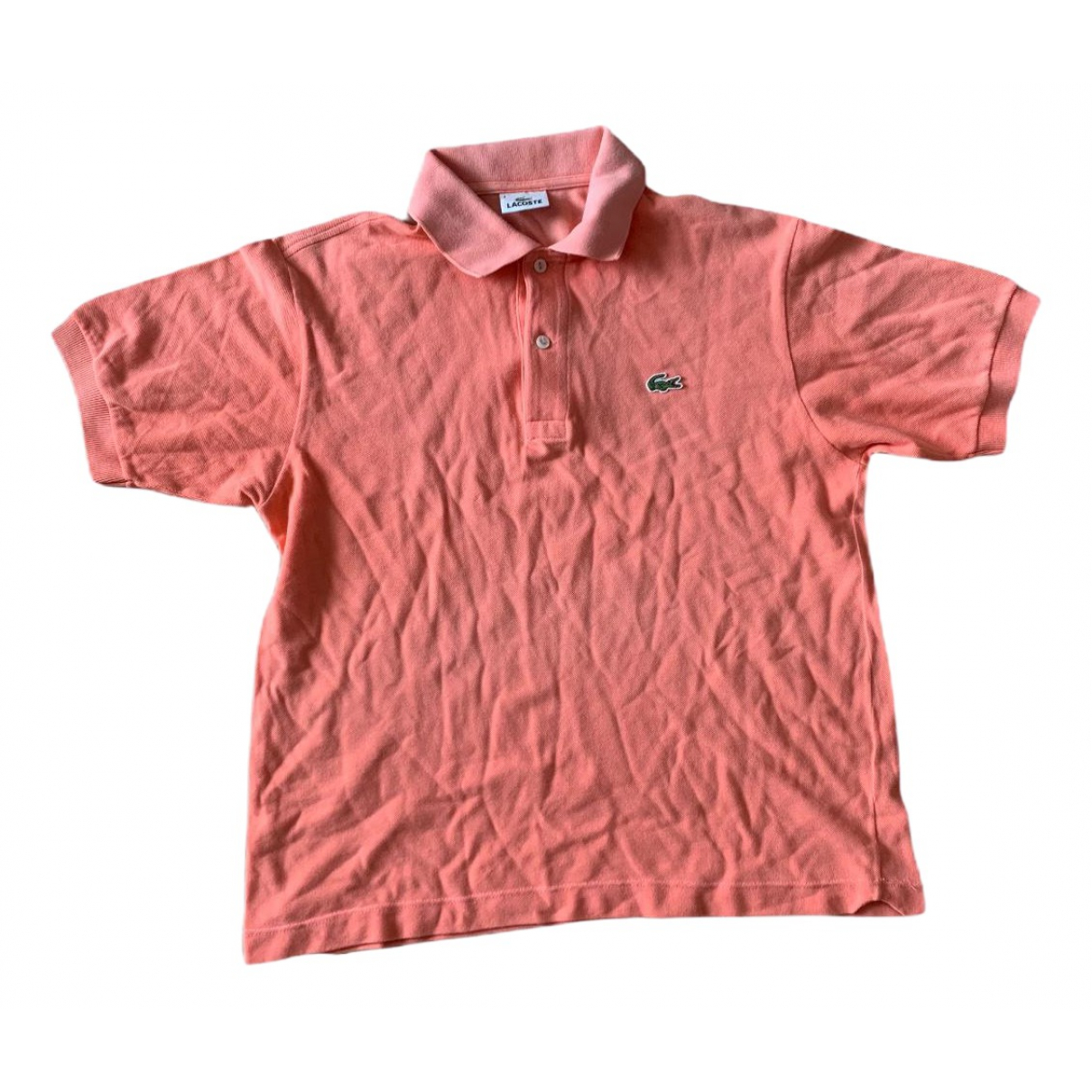 Lacoste \N Poloshirts in  Rosa Baumwolle