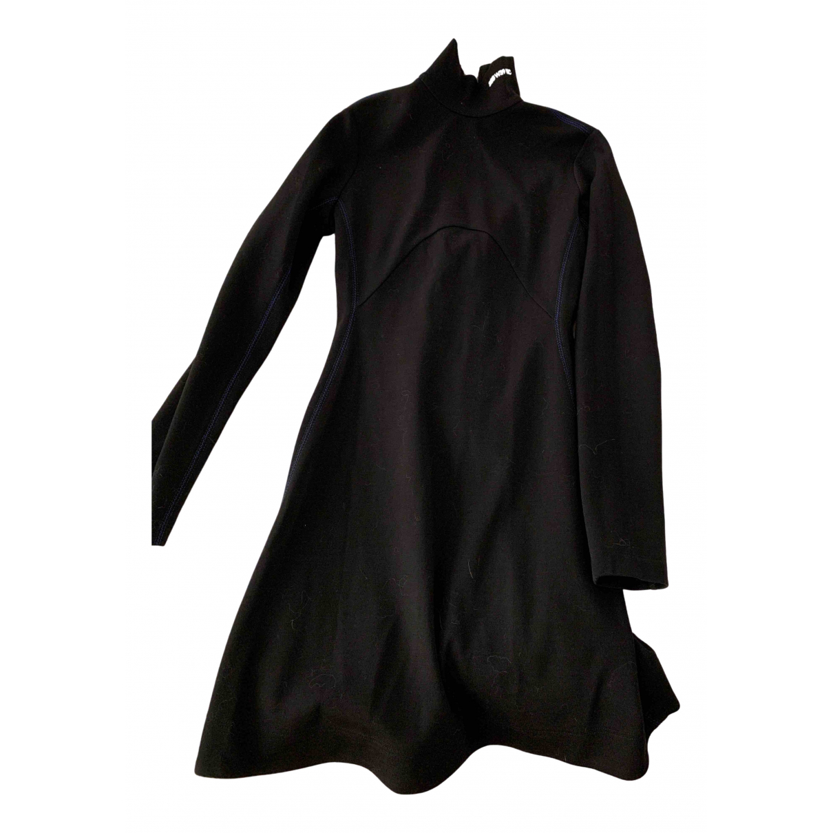 Calvin Klein 205w39nyc \N Kleid in  Schwarz Wolle