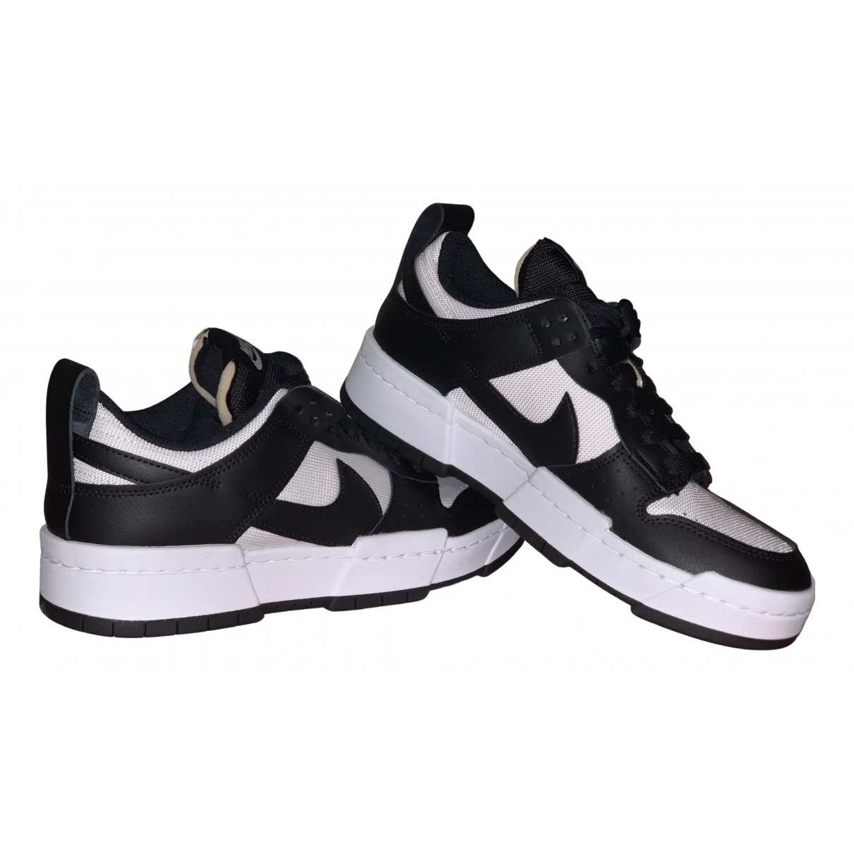Nike SB Dunk  Black Leather Trainers for Women 6.5 UK