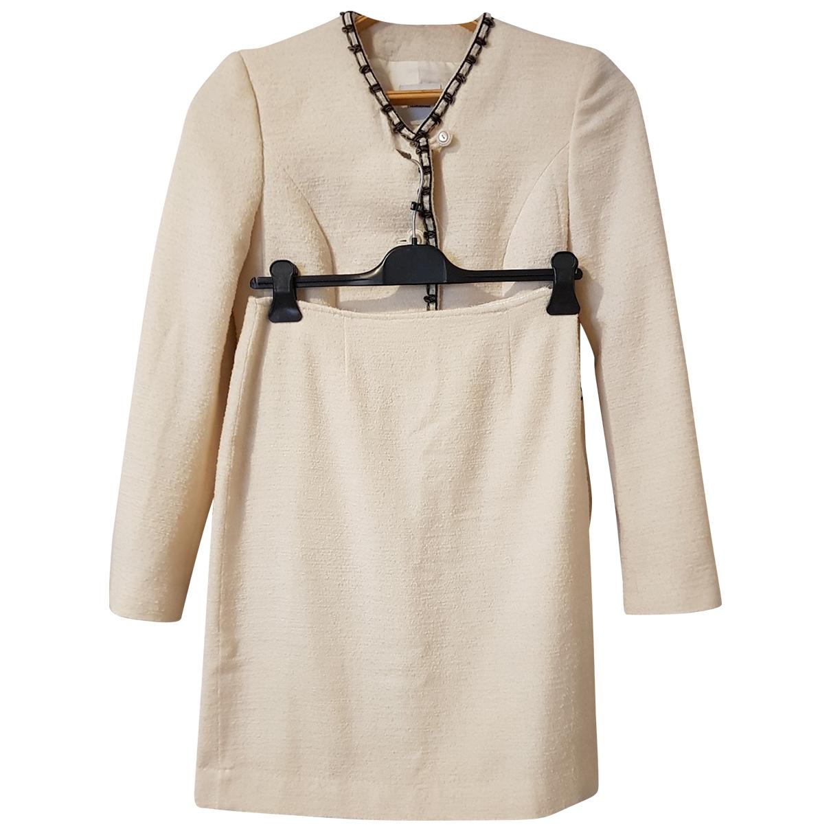 Moschino Cheap And Chic - Veste   pour femme en laine - blanc