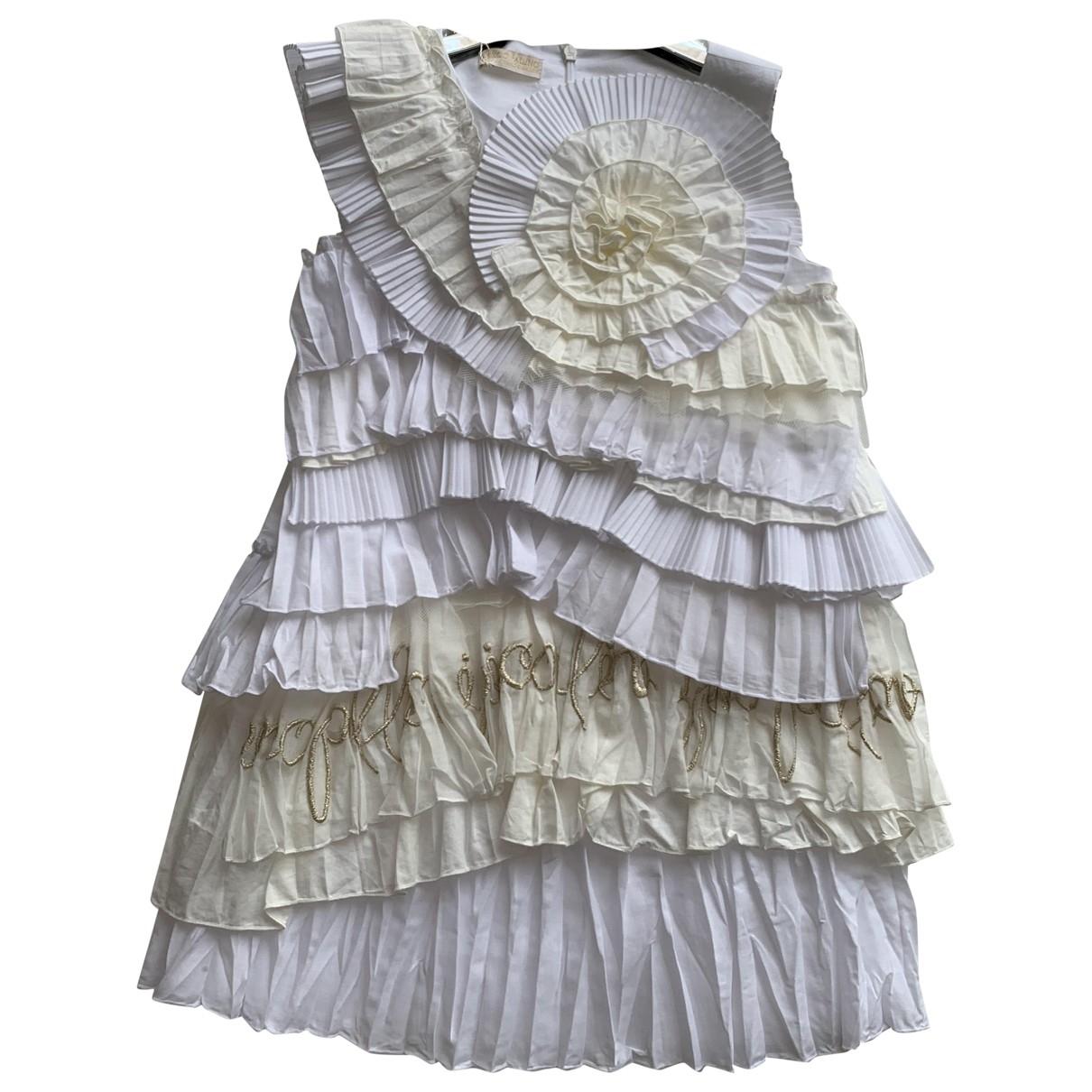 I Pinco Pallino \N Kleid in  Weiss Polyester