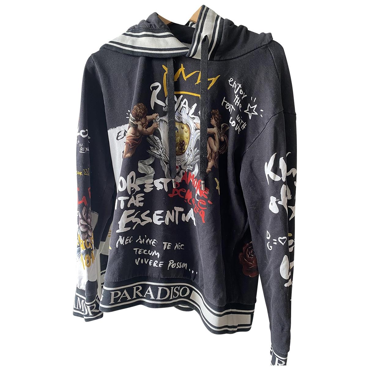 Dolce & Gabbana \N Pullover.Westen.Sweatshirts  in  Bunt Baumwolle