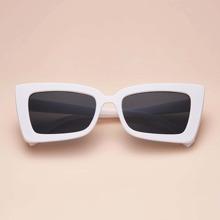 Square Chunky Frame Sunglasses