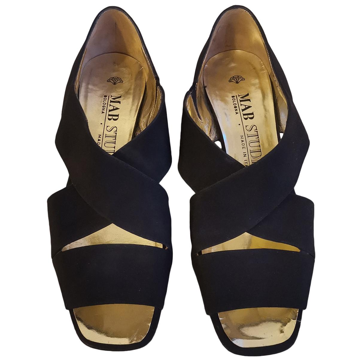 - Sandales   pour femme - noir