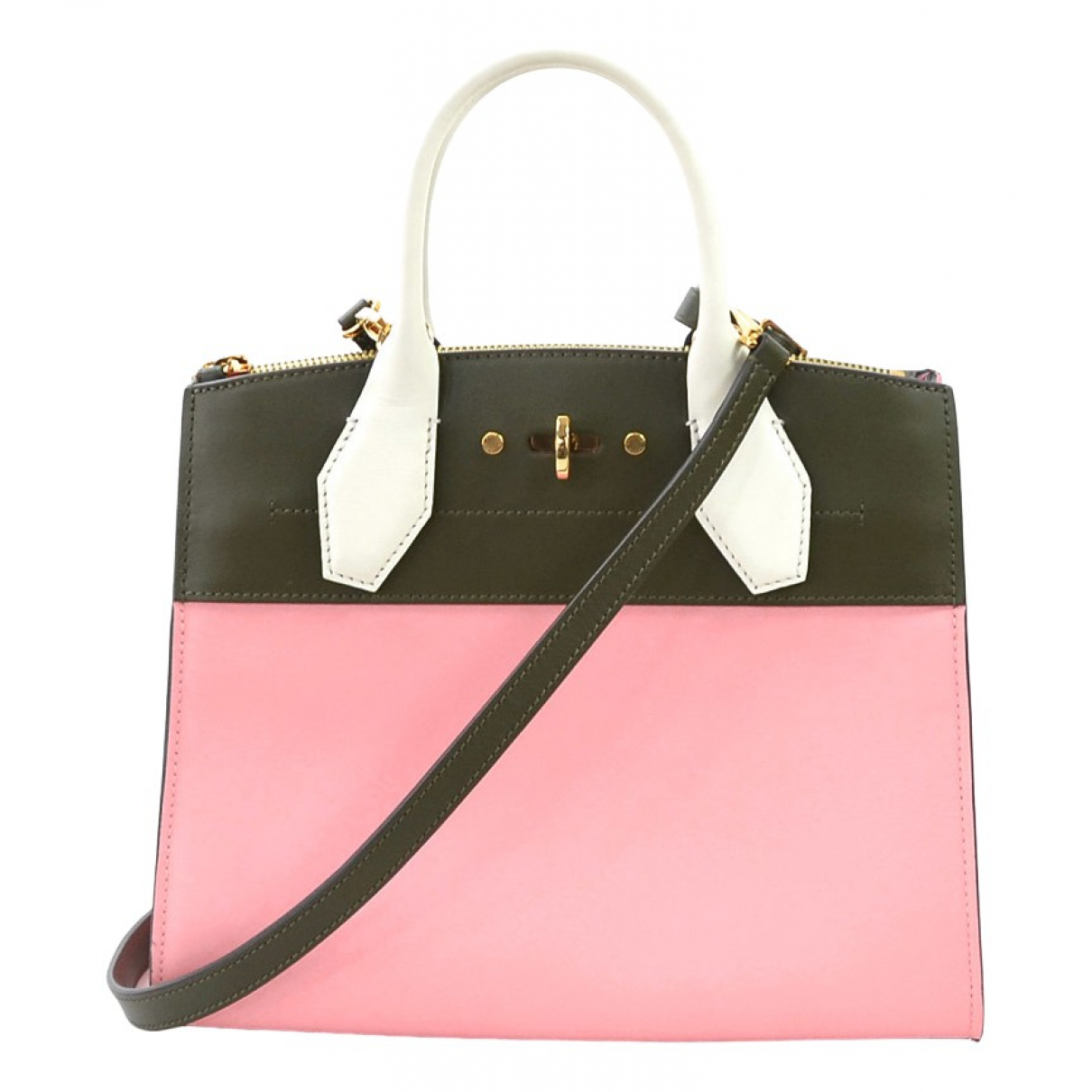 Louis Vuitton City Steamer Pink Leather handbag for Women \N