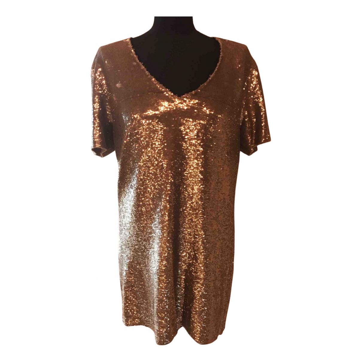 Iro \N Kleid in  Silber Mit Pailletten