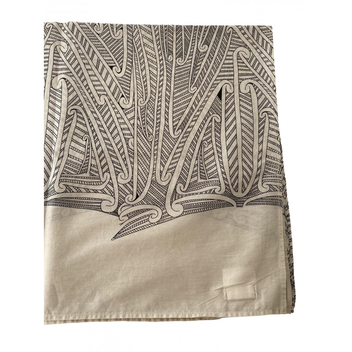 Hoss Intropia - Foulard   pour femme en coton - ecru