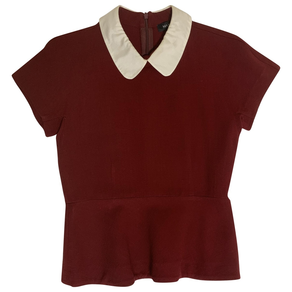 Max & Co \N Burgundy  top for Women 38 IT