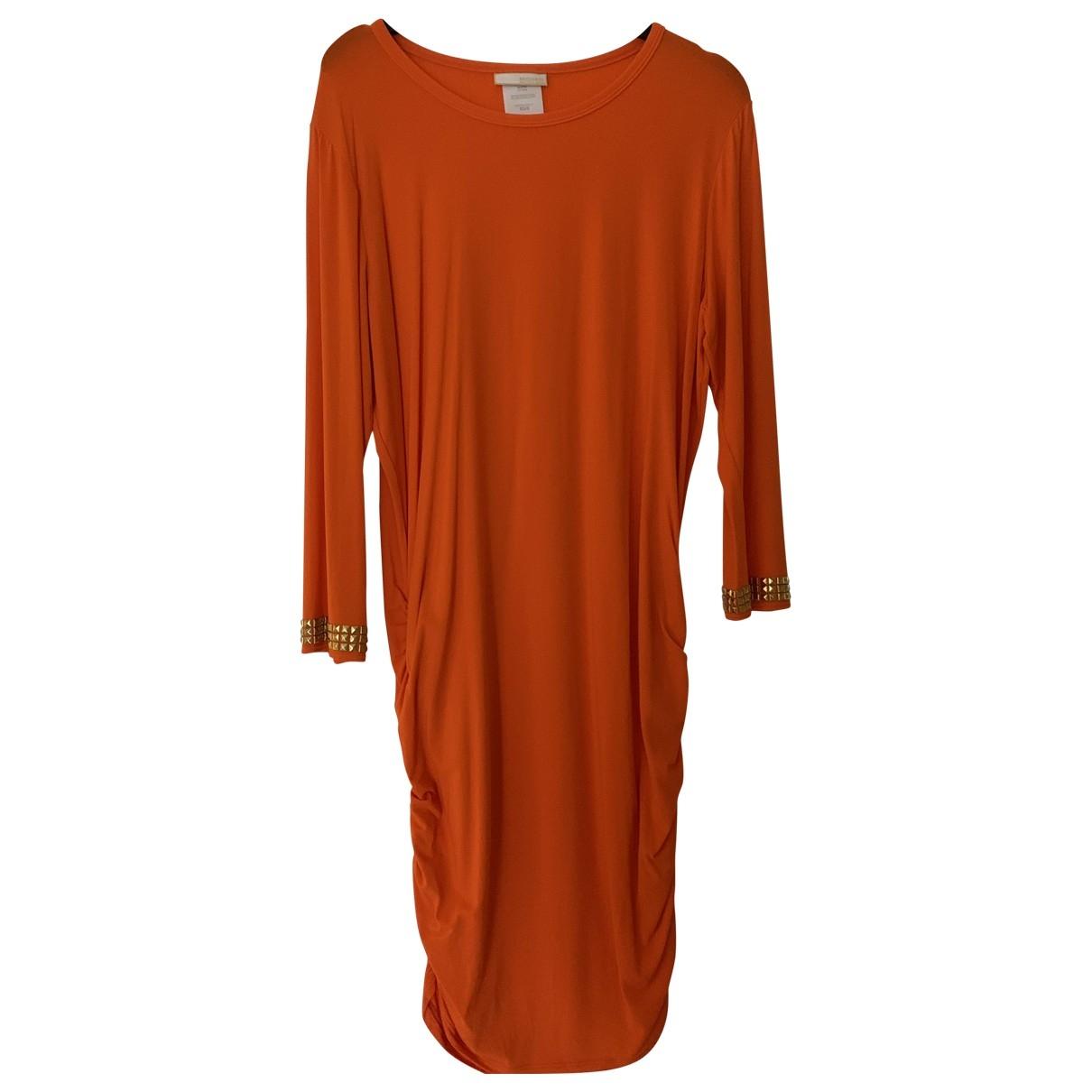 Michael Kors \N Orange Cotton - elasthane dress for Women S International