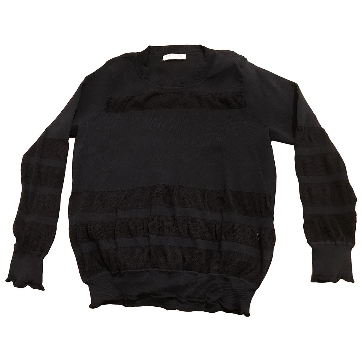 Sandro \N Blue Cotton Knitwear for Women 38 FR