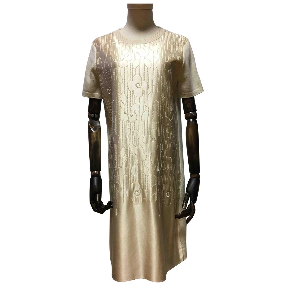 Dior - Robe   pour femme en laine - dore