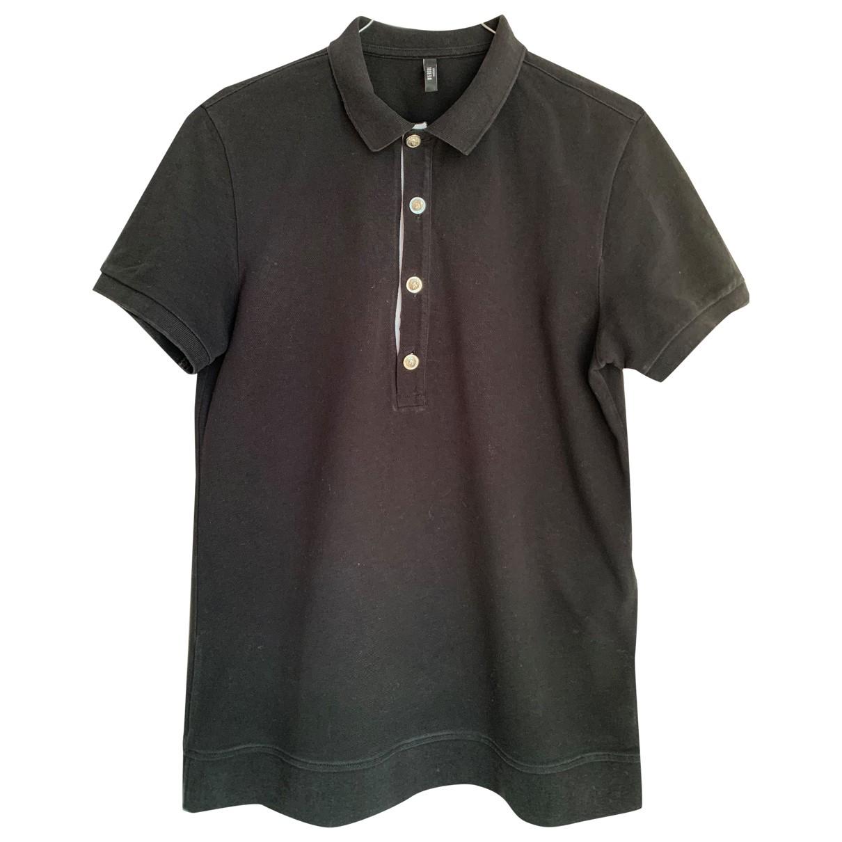 Versus \N Poloshirts in  Schwarz Baumwolle