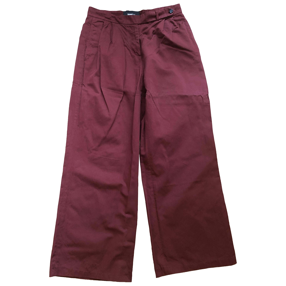 Pantalon recto Yang Li