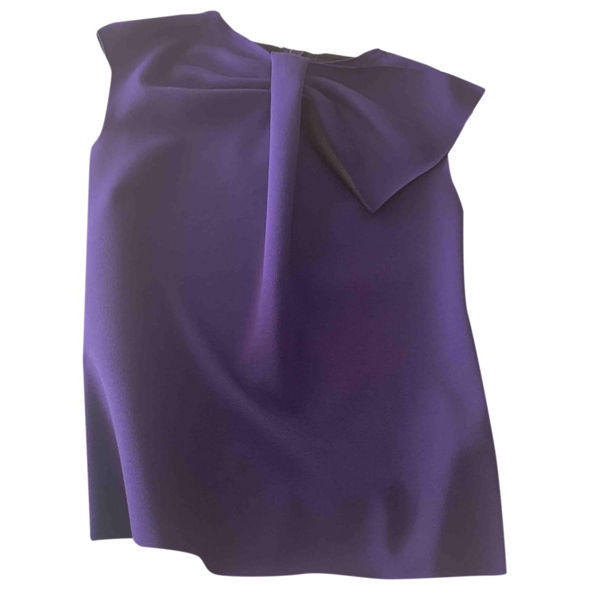 Emporio Armani - Top   pour femme - violet