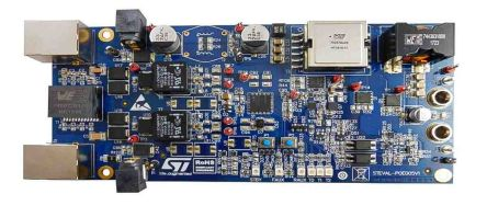 STMicroelectronics STEVAL-POE005V1 Evaluation Board for PM8805 for Building Safety and Security or Surveillance