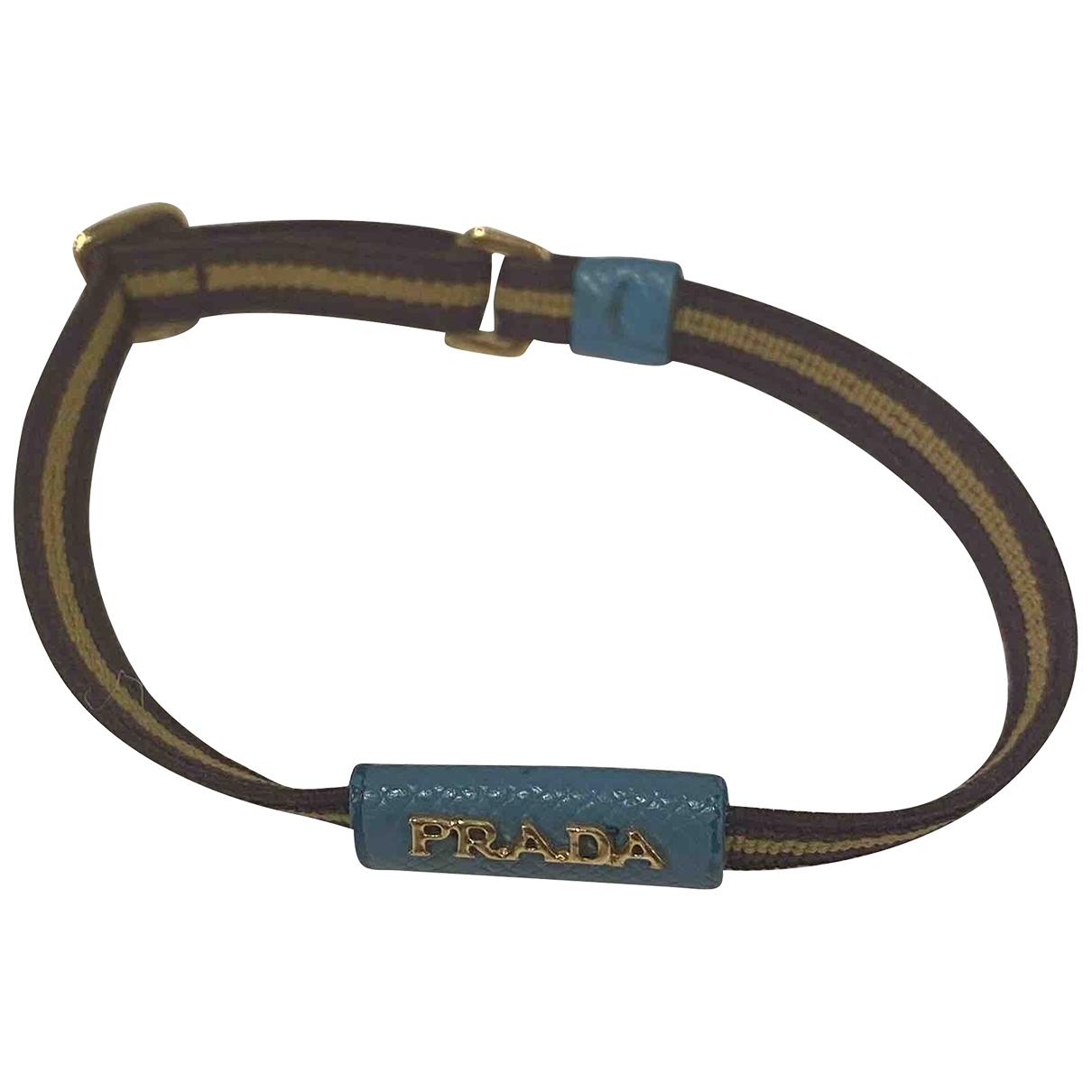 Prada \N Armband in  Braun Kunststoff