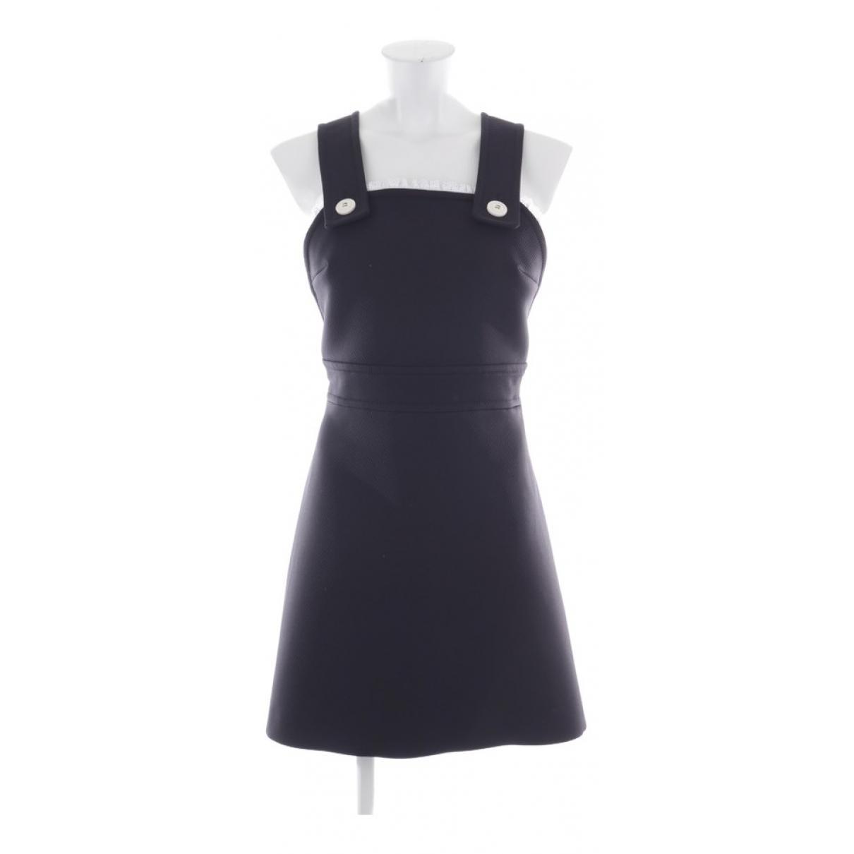 Miu Miu \N Kleid in  Blau Synthetik