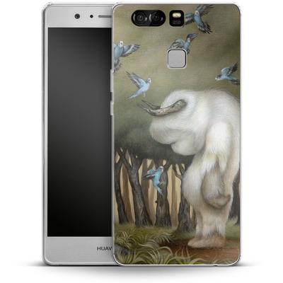 Huawei P9 Silikon Handyhuelle - Until We Meet Again von Dan May