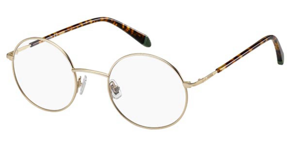 Fossil FOS 7017 CGS Men's Glasses Gold Size 48 - Free Lenses - HSA/FSA Insurance - Blue Light Block Available