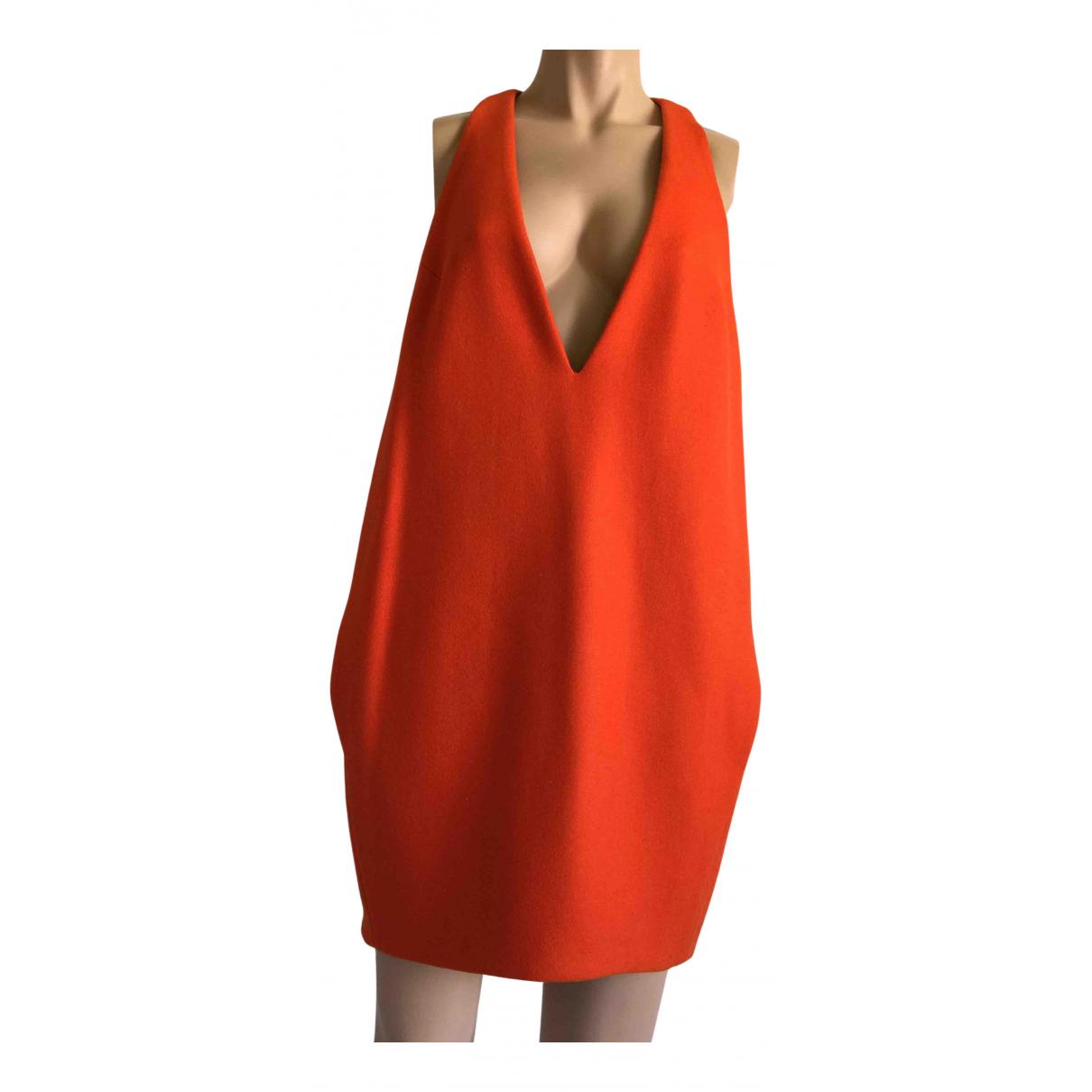 D&g \N Kleid in  Orange Wolle